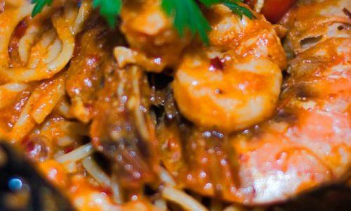 Seafood-Spaghetti